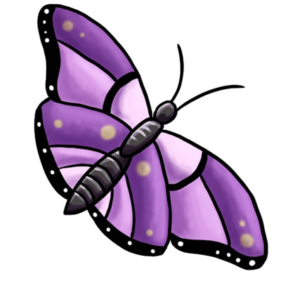 Clip Art Butterfly Clipart Free 24 free butterfly clip art drawings and colorful images 14