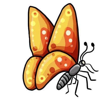 FREE Butterfly Clip Art 15