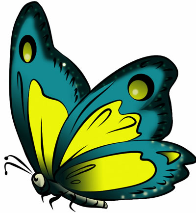 Clip Art Butterfly Clipart Free 24 free butterfly clip art drawings and colorful images 17