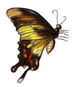 FREE Butterfly Clip Art 18